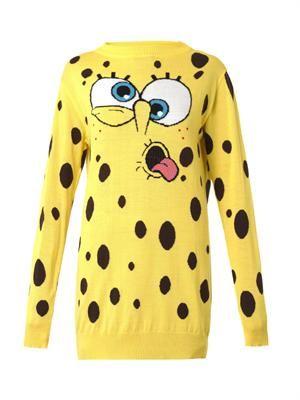 SpongeBob wool sweater