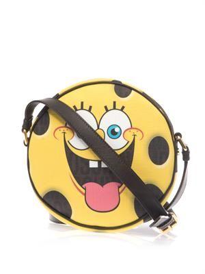 SpongeBob leather cross-body bag