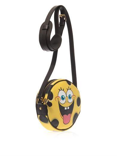 Moschino SpongeBob leather cross-body bag