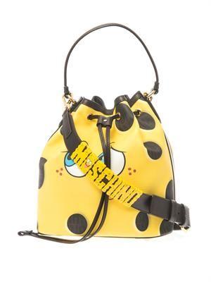 SpongeBob leather bucket bag