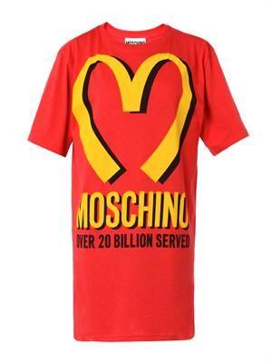 Logo-print oversized T-shirt