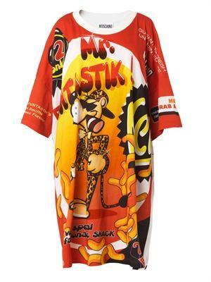 Mr Funtastik-print T-shirt dress