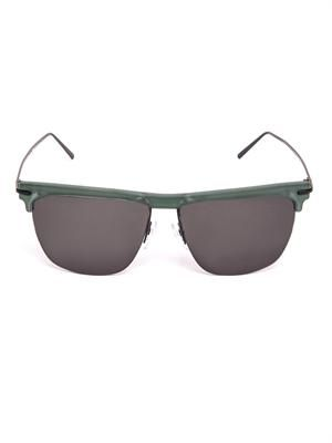 Havana top frame sunglasses