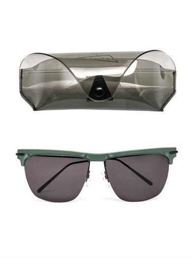 Prism X Toga Havana top frame sunglasses