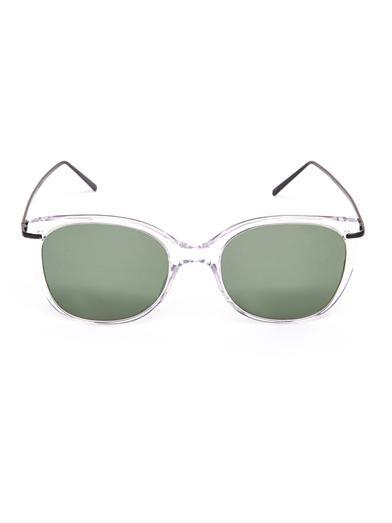 Prism X Toga Tokyo clear-frame sunglasses