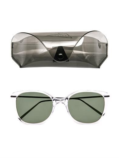 Prism X Toga Tokyo clear-frame sunglasses