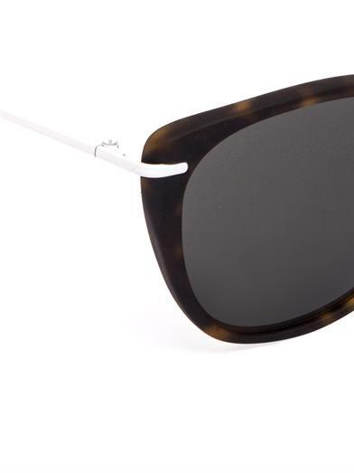 Prism X Toga Tokyo square-framed sunglasses