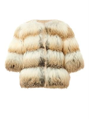 Foxy fox-fur jacket