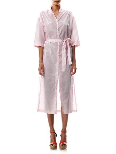 Lisa Marie Fernandez Cotton shirt dress