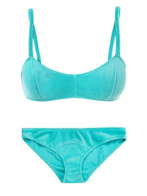 Genevieve terry cloth bikini