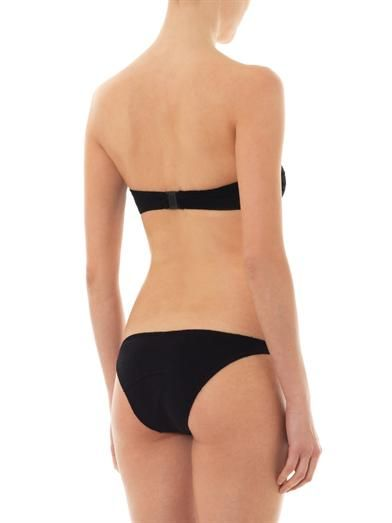 Lisa Marie Fernandez Alexia terry-cloth bandeau bikini