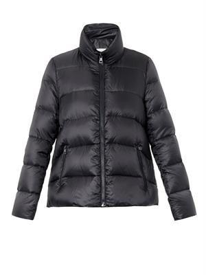 Himawari quilted down jacket