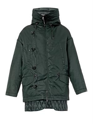 Ibuki hooded parka