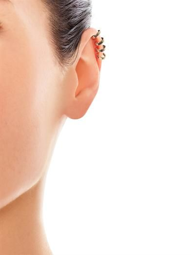 Aamaya by Priyanka Rose gold-plated ear cuff