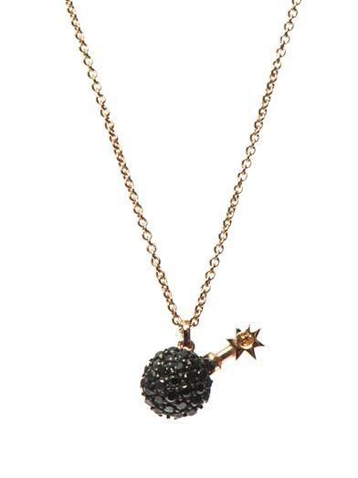Aamaya by Priyanka Bomb rose gold-plated necklace