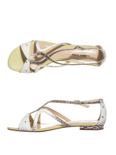Alexandre Birman Watersnake sandals