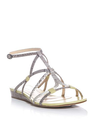 Alexandre Birman Mini wedge sandals