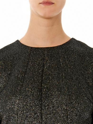 Giles Iridescent glitter blouse