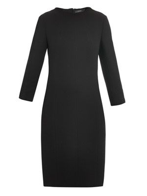 Doppio crepe dress