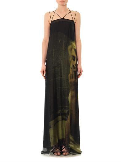 Giles Kate smoking-print dress