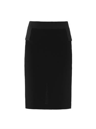 Giles Crepe pencil skirt