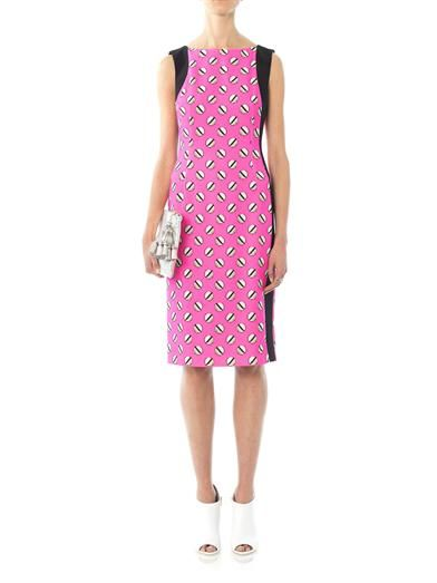 Giles Screw pois print dress