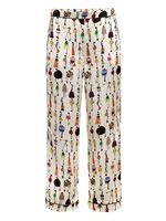 Giles girls printed trousers