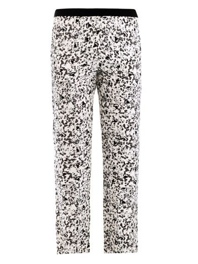 Giles Bitsy print trousers