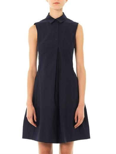 Jil Sander Navy Carob shirt dress