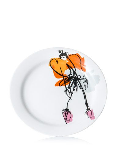 Giles Giles illustration Leah plate