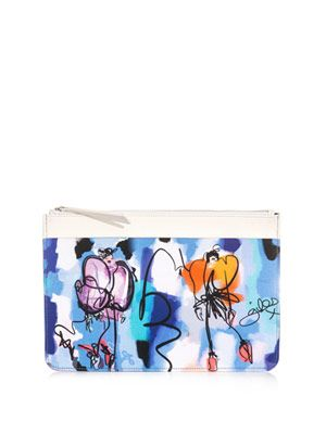 Giles illustration Tiger pouch