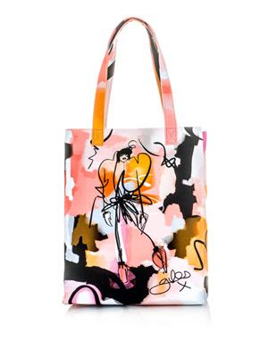 Giles illustration Leah tote