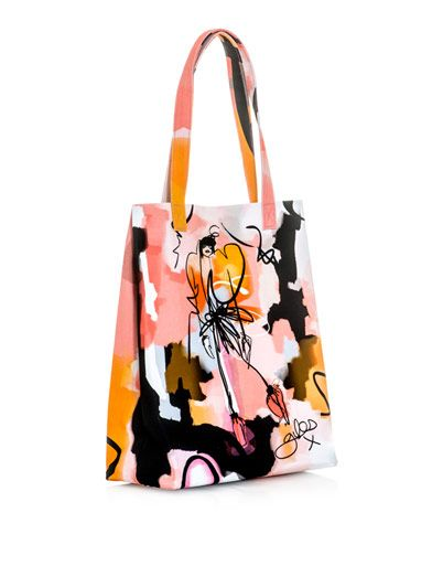 Giles Giles illustration Leah tote
