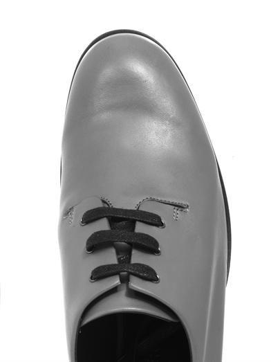 Jil Sander Navy Leather lace-ups