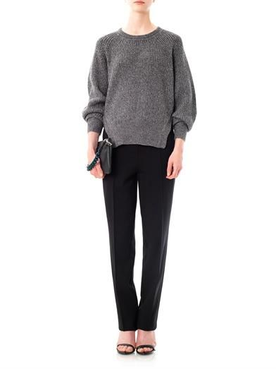 Jil Sander Navy Birch double-knit jogging trousers
