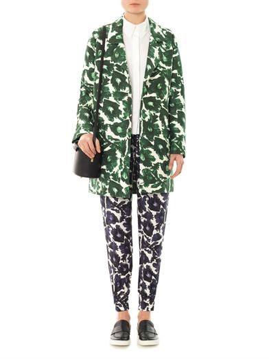 Mother Of Pearl Carrera floral print tailored coat