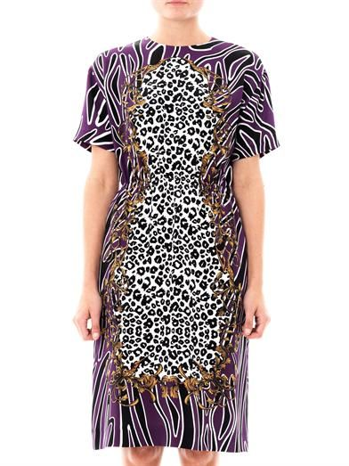 Mother Of Pearl Georgia animal-print dress