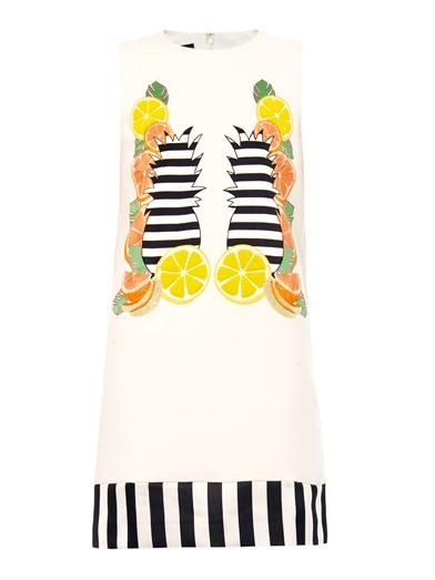 Mother Of Pearl Franklin fruit shift dress