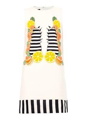 Franklin fruit shift dress