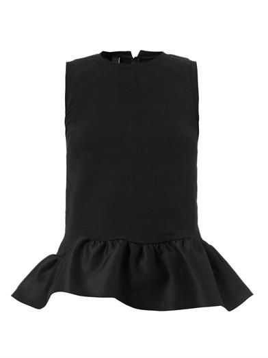 Mother Of Pearl Averil contrast-peplum top