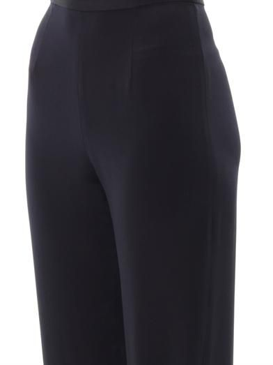 Mother Of Pearl Boyne silk jogger trousers