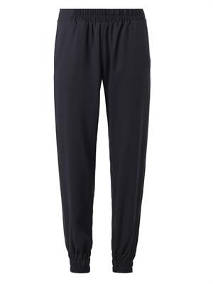 Rhea wool-crepe trousers