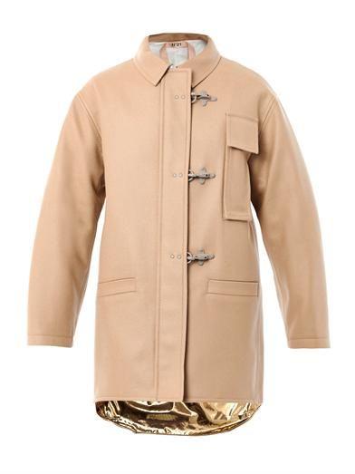 No. 21 Wool duffle coat