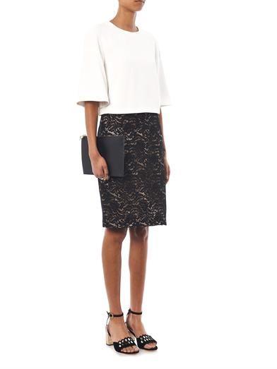 No. 21 Lace embellished skirt