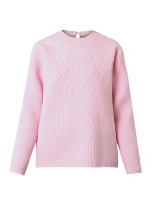 Bonded-wool sweater