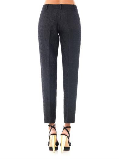 No. 21 Jacquard tailored trousers