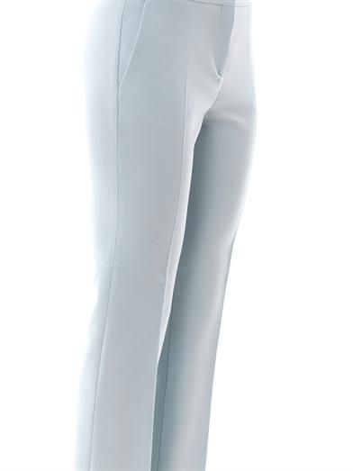 No. 21 Stretch-wool tailored trousers