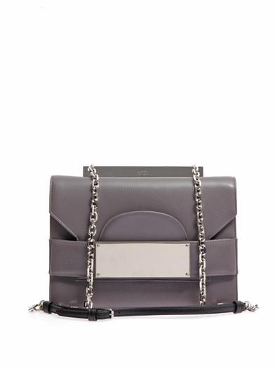 No. 21 Leather cross-body bag