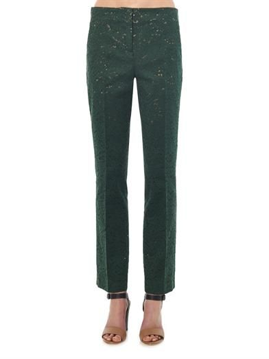 No. 21 Tailored lace trousers