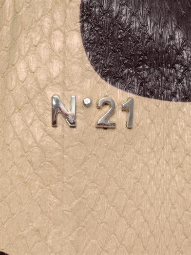 No. 21 Polka-dot ayers tote